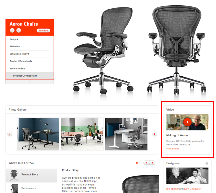 Aeron - Office Chair - Herman Miller